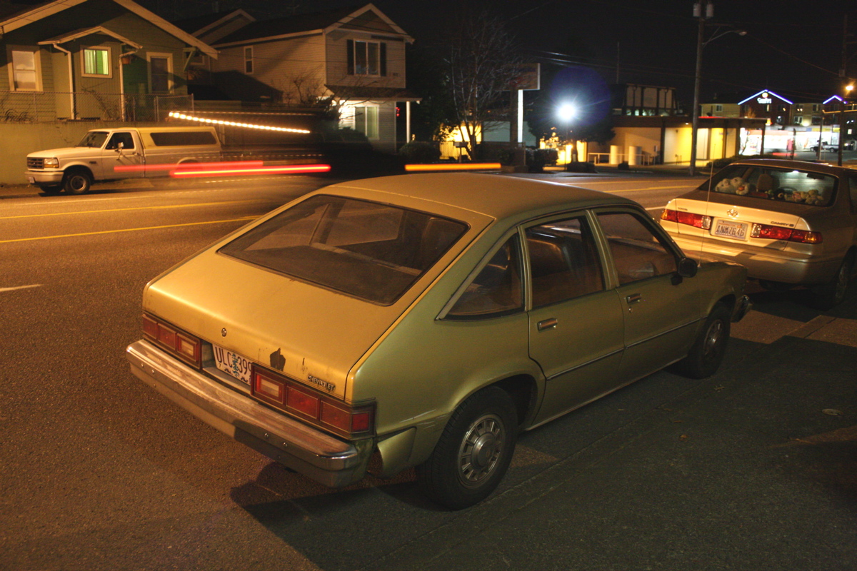 1981 Chevrolet Citation Hatchback.
