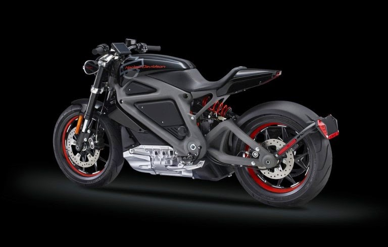 2015 Harley-Davidson tested electric motorcycle LiveWire video  photos