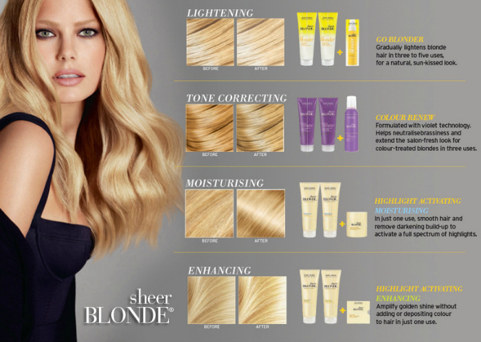 John Frieda Sheer Blonde Blonde Ambition dual