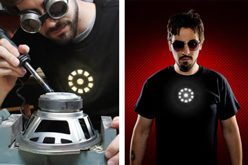 the t shirt of tony stark halloween is approaching and it is very likely that there is an invitation arrived for a costume party