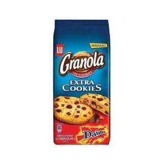 40 Granola Extra Cookies Daim
