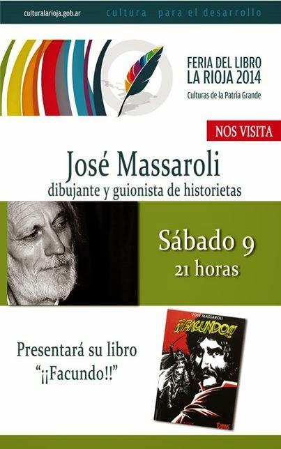 El sábado 9, presentación de ¡¡Facundo!! en La Rioja