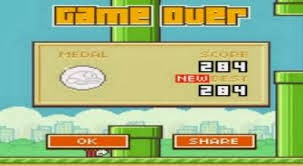 end Flappy Bird Android Game