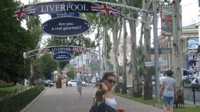 Menikmati Suasana Kampung Liverpool di Kota Donetsk