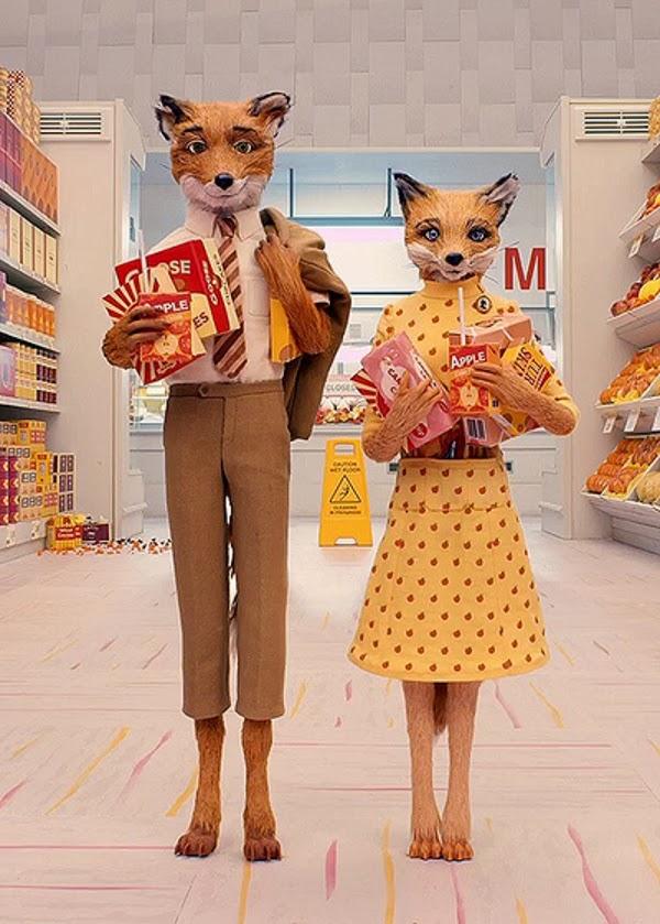 BITS: Halloween Costum... The Fantastic Mr Fox Cast