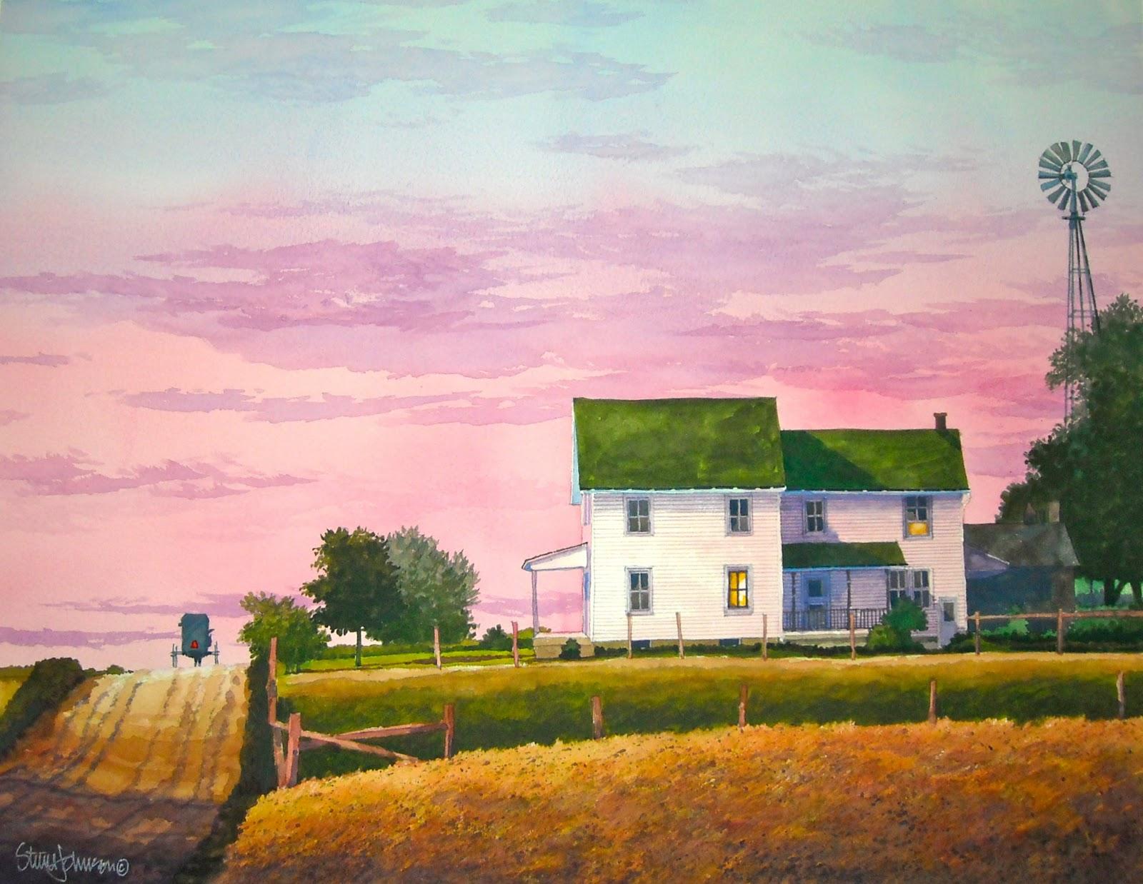 Steve Johnson Watercolors