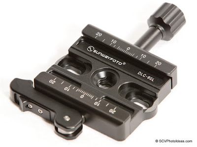 Sunwayfoto DLC-60L Duo Lever / Knob Quick Release Clamp