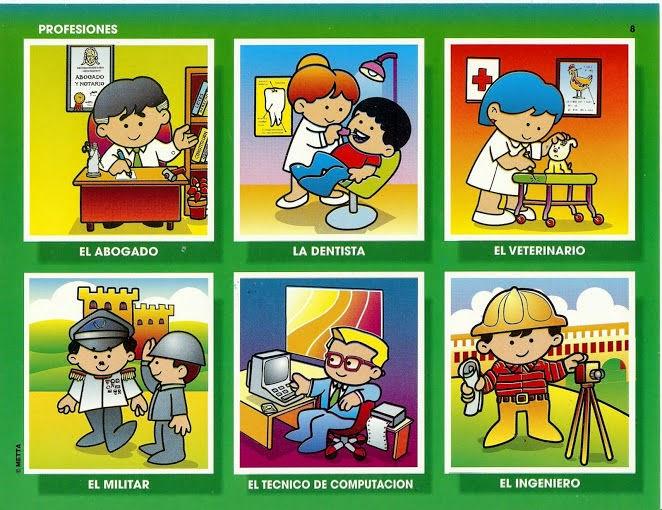 Vocabulario en imágenes. Maestra de Infantil y Primaria.: Juego de ...