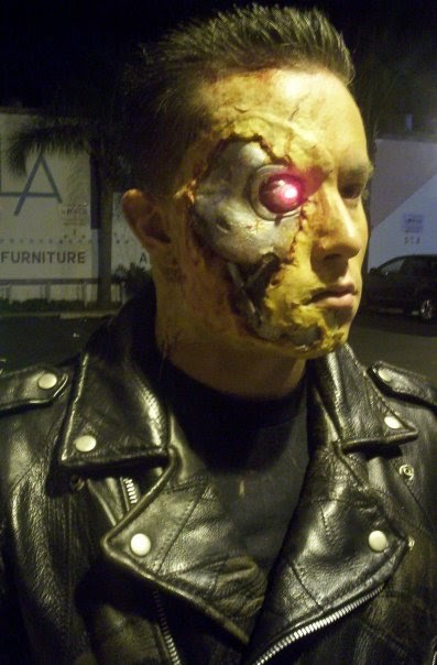 Terminator Costume Make Up