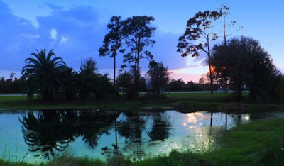 Wickham Park Campground, melbourne, florida