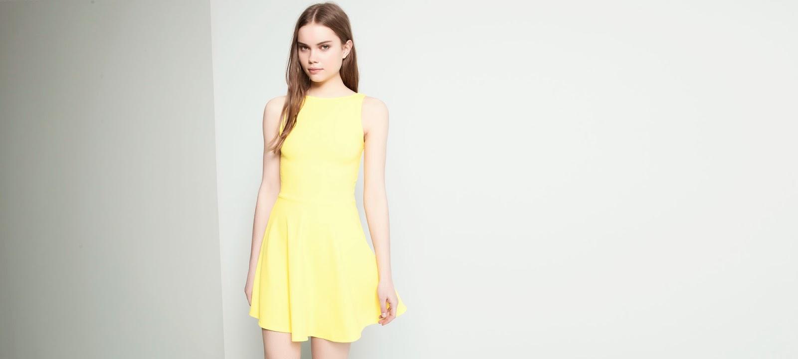 amarillo ropa