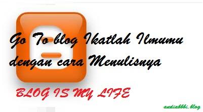 Ngeblog biar Gak Goblog