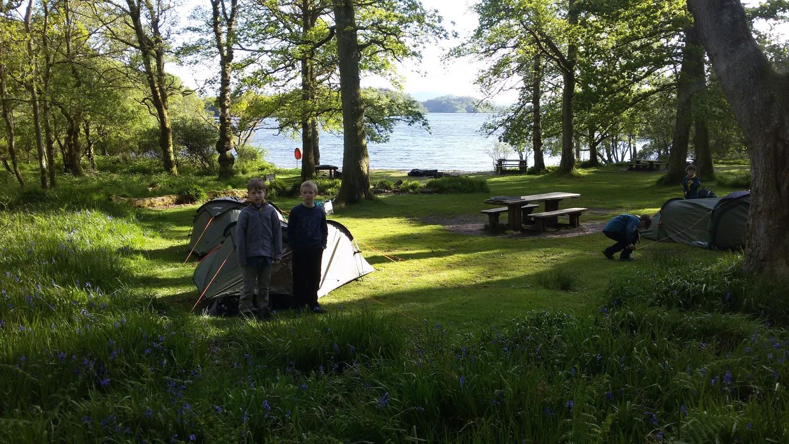 Camping Islands Loch Lomond an Island on Loch Lomond