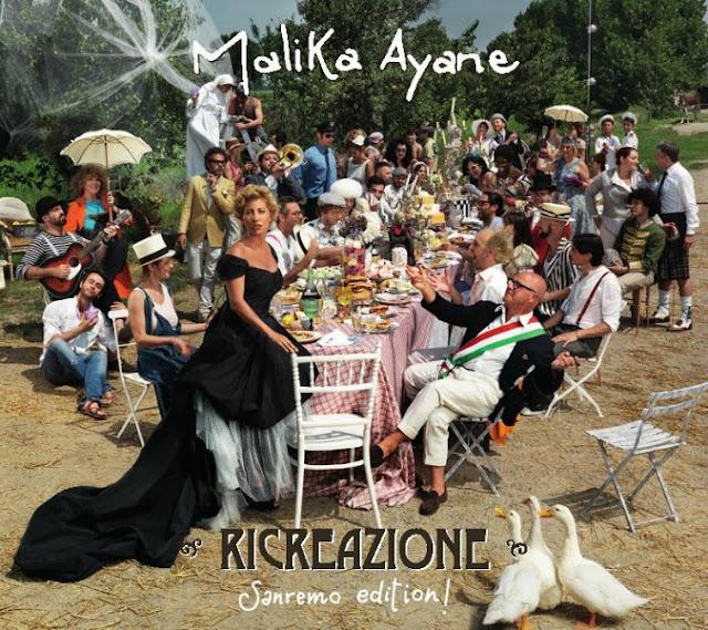 Cover Malika Ayane - Ricreazione Sanremo Edition
