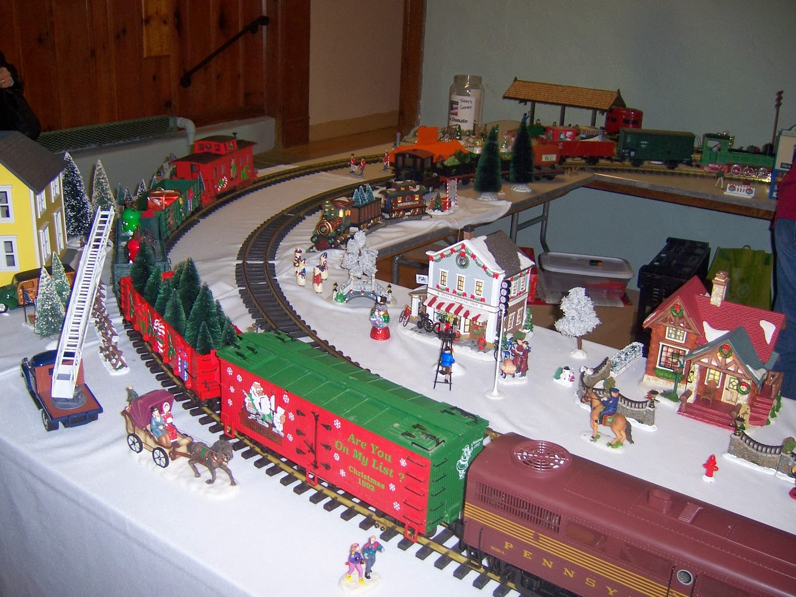 Large Scale Railroad Display
