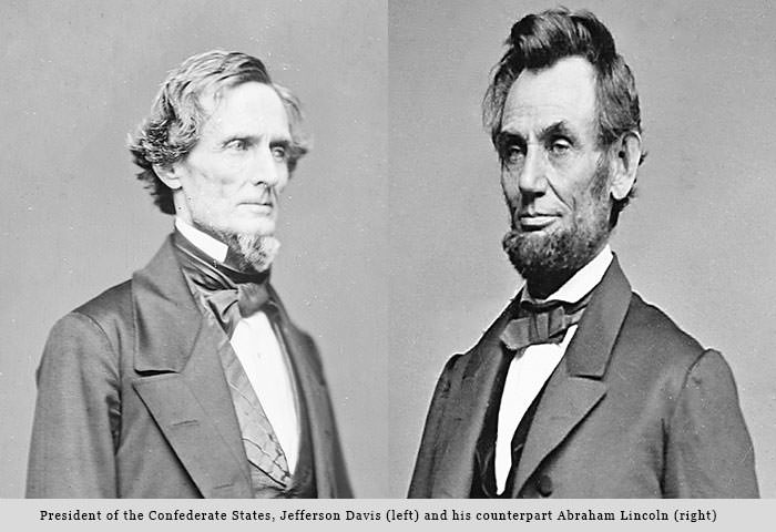 abraham lincoln and jefferson davis Historians have written hundreds of interesting biographies of abraham lincoln  and jefferson davis generally, however, they have shied away from any.