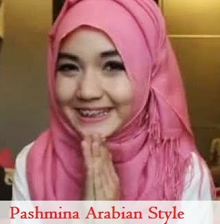 Pashmina Arabian Style