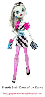 Poupée Monster High Frankie Stein Dawn of the Dance