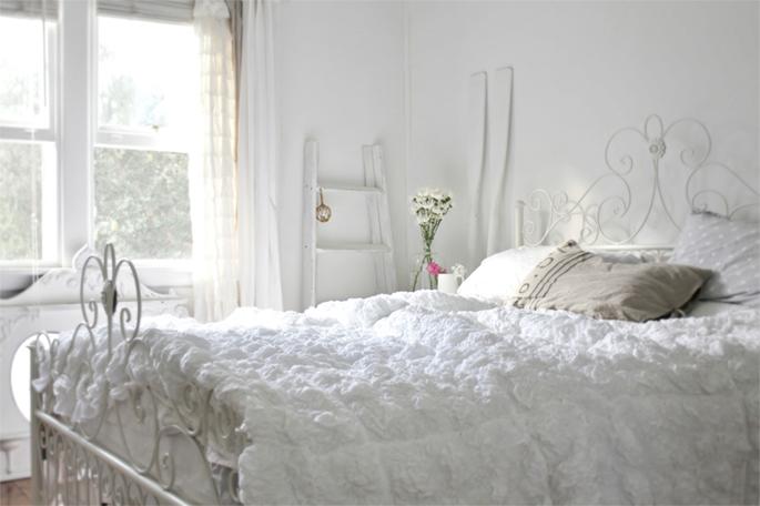 Inspiração linda e clean para decorar o quarto de casal  ~ Quartos Casal Vintage