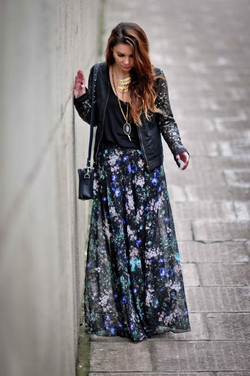 9ae47725fdb Topshop Black Floral Maxi Dress - Gomes Weine AG