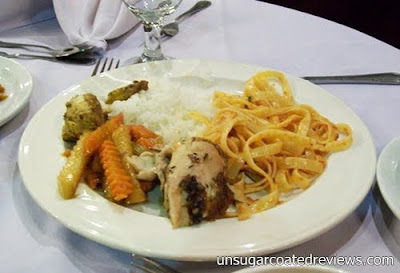 buffet at Barbara's Restaurant Intramuros