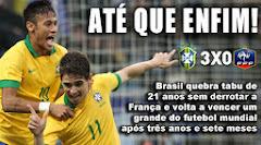 BRASIL VENCE A FRANÇA