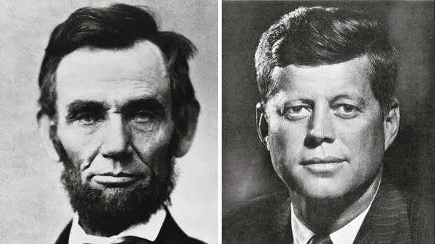 Persamaan Misterius Abraham Lincoln dan John F Kennedy