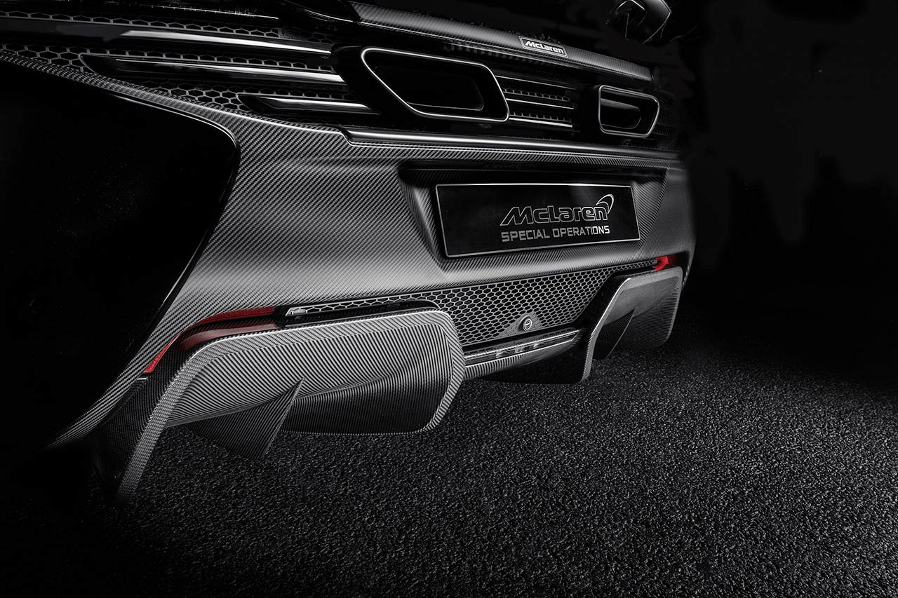 McLaren MSO 650S Coupe Concept rear