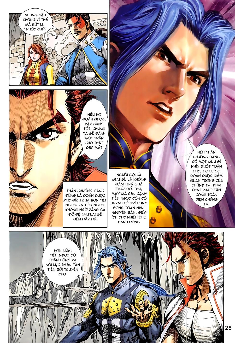 Thần Chưởng trang 28