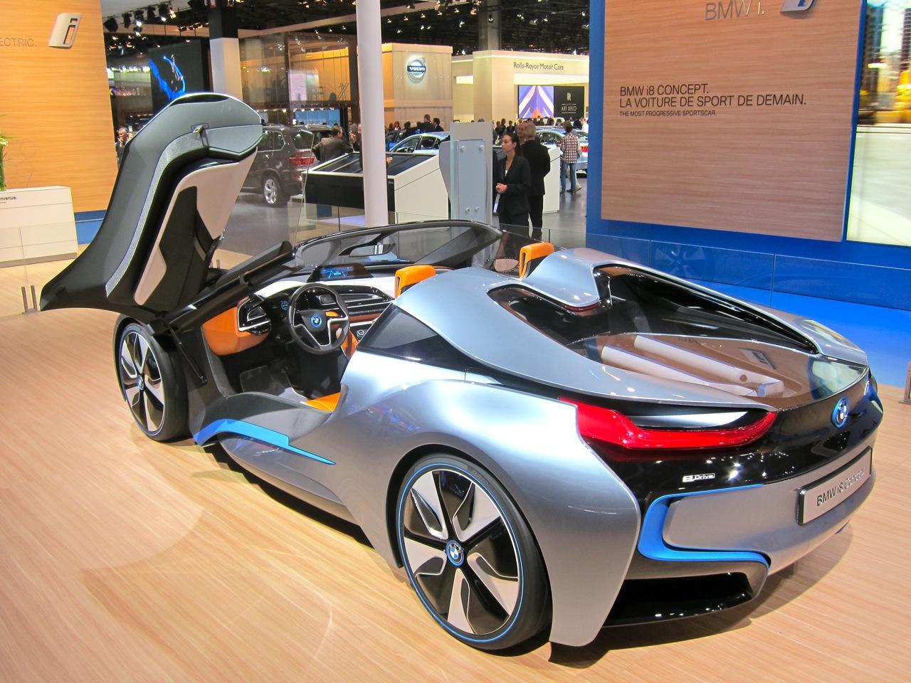 BMW I8 SPYDER CONCEPT SHOCKING
