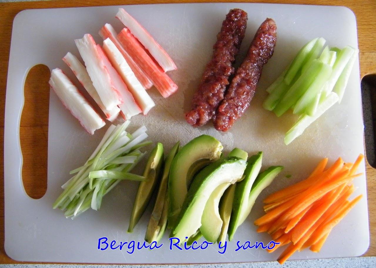 Comer rico y sano: Maki-sushi de quinoa - photo#42