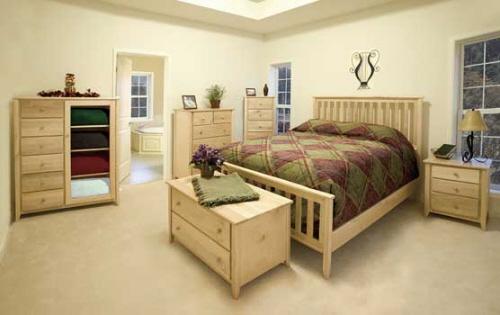Light Colored Wood Bedroom Furniture