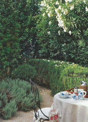 Tea in the garden,  Ville Gardini Sept 09, edited by lb for l&l