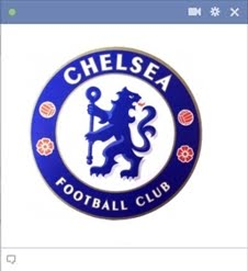 Chelsea Football Emoticon For Facebook Chat