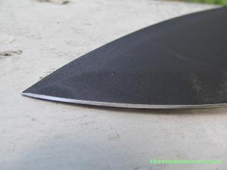 Ka-Bar Kukri Machete - Closeup Of Blade