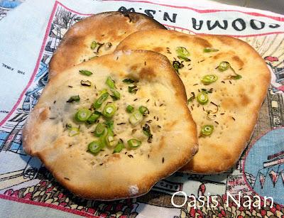 Oasis Naan © Susan Lockhart King http://food-baby.blogspot.com.au