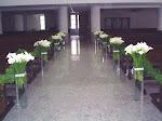 Colunas para eventos e casamentos