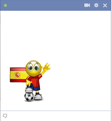 Spanish football smiley