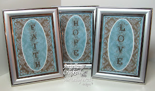 Stamps - Our Daily Bread Designs Bookmarks Faith, Hope & Love