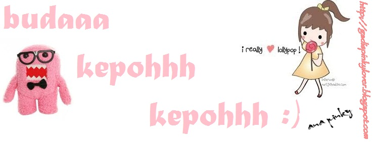 gadis pinky (: