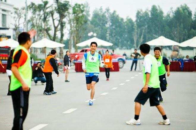 Môn chạy sẽ được tổ chức tại đại hội Vinhomes