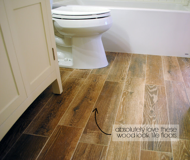 Wood Look Floor Tiles