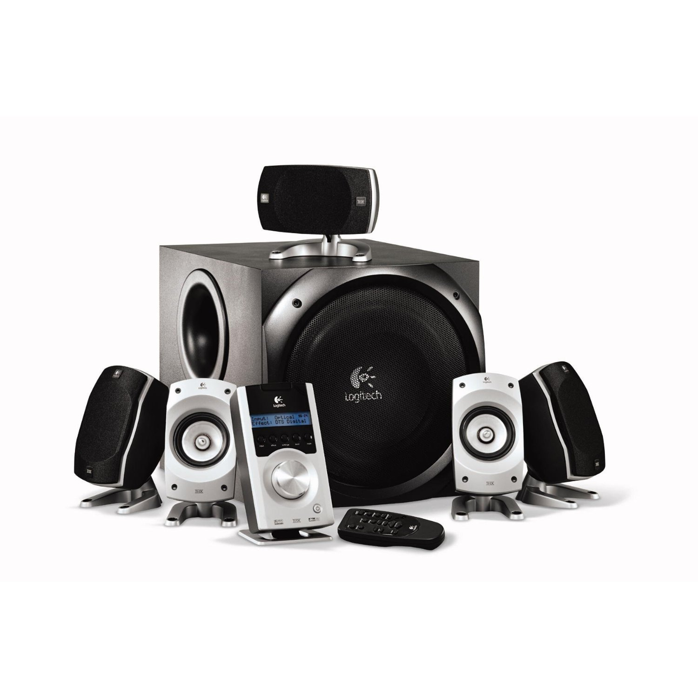 Home theatre speakers logitech speakers for Woofer speaker system