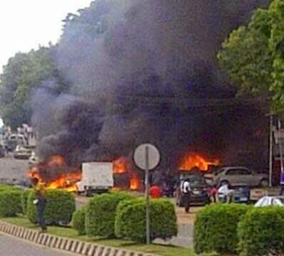 Bomb Blast At Abuja