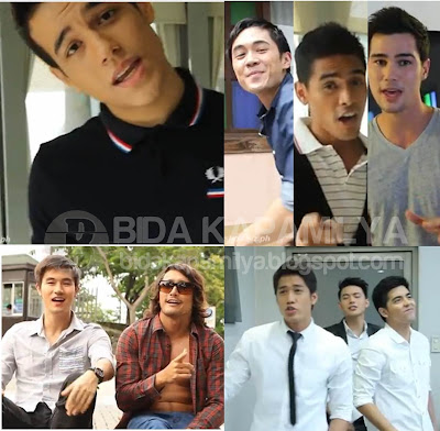 Top 40 Hottest Men in the Philippines for 2012 (Inside Showbiz Mag)