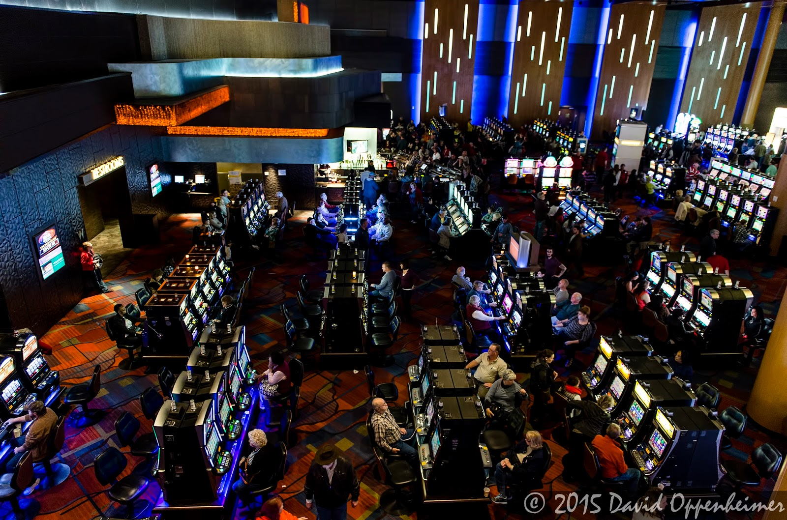 Slot machines at Harrah's Cherokee Casino