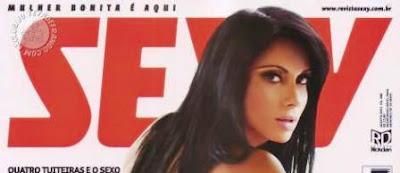 Dani Sperle posará en Revista Sexy de Agosto de 2011.