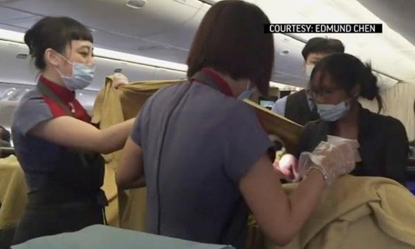 Ibu Bersalin Dalam Pesawat Perlu Jelas Bayaran Cecah RM140,000..!