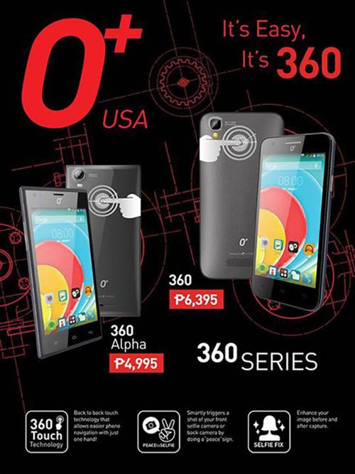 O+360, O+360 alpha smartphone