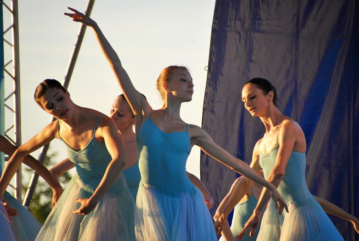 Балет на закате Губаха 2014